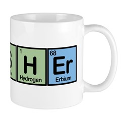 Fisher made of Elements Mug