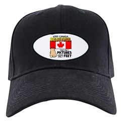 Canada Severed Foot Black Cap