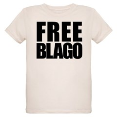 Free Illinois Governor Blagojevich, he's innocent! Organic Kids T-Shirt