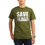 Save Illinois Governor Blagojevich, he's innocent! Organic Men's T-Shirt (dark)