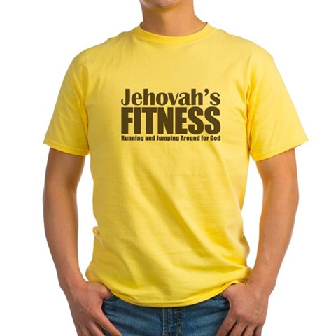Jehovah's Fitness Yellow T-Shirt