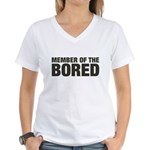Member of the Bored Women's V-Neck T-Shirt