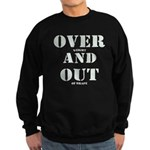 Over & Out Sweatshirt (dark)
