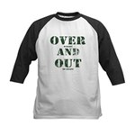 Over & Out Kids Baseball Jersey
