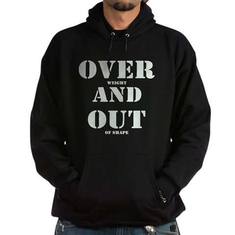 Over & Out Hoodie (dark)