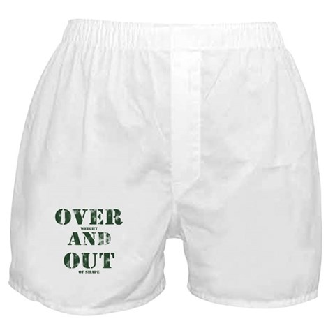 Over & Out Boxer Shorts