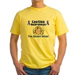 Cooties Awareness Yellow T-Shirt