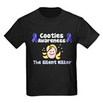Cooties Awareness Kids Dark T-Shirt