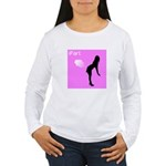 iFart Funny Spoof Women's Long Sleeve T-Shirt