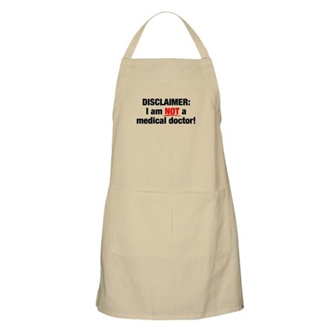 Disclaimer: Not a Dr! BBQ Apron