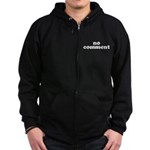 No Comment Zip Hoodie (dark)