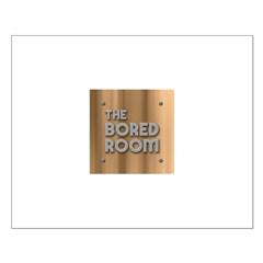 The Bored Room Small Poster