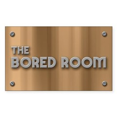 The Bored Room Sticker (Rectangle)