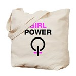 Girl Power Symbol Tote Bag