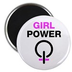 Girl Power Symbol Magnet