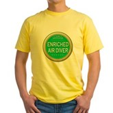 Certified Nitrox Diver Yellow T-Shirt