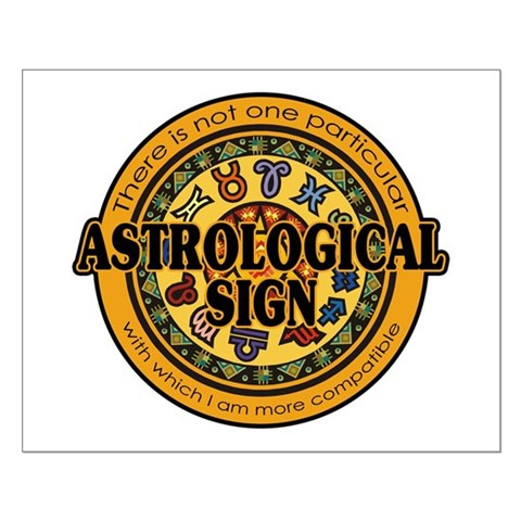 Astrological Sign Small Poster