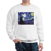 Starry Dove Sweatshirt
