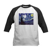 Starry Dove Kids Baseball Jersey