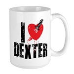 I Heart Dexter *Showtime* Large Mug