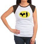 Bat Man Women's Cap Sleeve T-Shirt