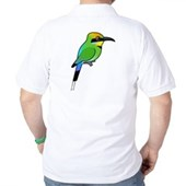 Rainbow Bee-eater Golf Shirt