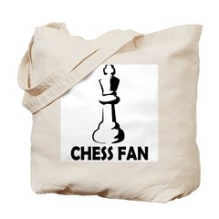 Chess Fan Tote Bag