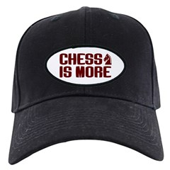 Chess is More Black Cap