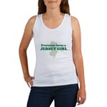 Everyone Loves A Jersey Girl Women's Tank Top