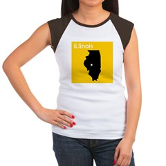 iLlinois Women's Cap Sleeve T-Shirt