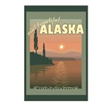 Visit Beautiful Alaska Postcards (Package of 8)