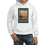 Visit Beautiful Alaska Hooded Sweatshirt