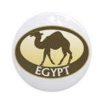 Egyptian Camel Ornament (Round)