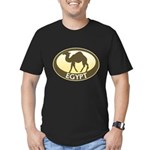 Egyptian Camel Men's Fitted T-Shirt (dark)