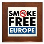 Smoke Free Europe Framed Tile
