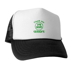25% Irish - Thank You Grandpa Trucker Hat