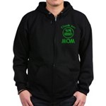 50% Irish - Thank You Mom Zip Hoodie (dark)