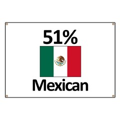 51% Mexican Banner