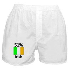 51% Irish Boxer Shorts