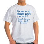 Happiest Places on Earth Light T-Shirt