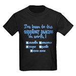 Happiest Places on Earth Kids Dark T-Shirt