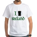 I Love Ireland (beer) White T-Shirt