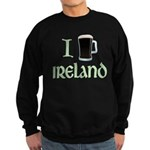 I Love Ireland (beer) Sweatshirt (dark)