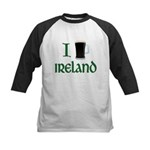 I Love Ireland (beer) Kids Baseball Jersey