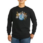 They Were Here First Long Sleeve Dark T-Shirt