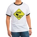 Talking Ducks Crossing Ringer T