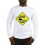 Talking Ducks Crossing Long Sleeve T-Shirt