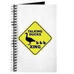 Talking Ducks Crossing Journal