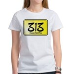 313 License Plate Women's T-Shirt