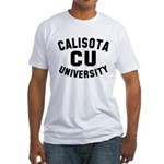 Calisota University Fitted T-Shirt